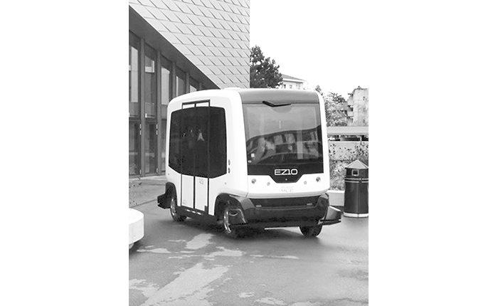Жүргізушісіз автобус