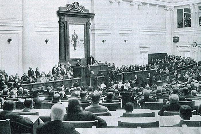 ДҮНИЕНІ ДҮБІРЛЕТКЕН  1916 жылғы көтерілістің  Мемлекеттік  Думада қаралуы