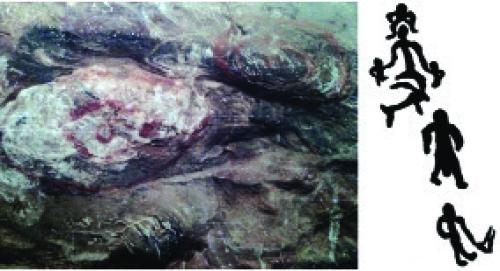2 — 3. аналық ДәуірДі бейнелеу (Көктоғай Таңбалы өңірі). «көз», «шүйіртпе», «орай» өрнектерінің әсілгі нұсқалары.