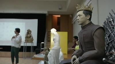 Қастеев атындағы өнер мұражайындағы жәдігерлер 3D форматында көрсетілмек