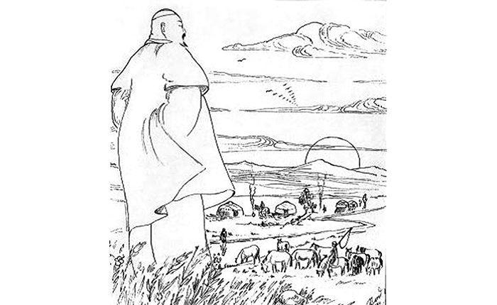 АБАЙ АУЫЛЫ МІНГІЗГЕН АТПЕН ЖЕТІСУҒА ЖЕТКЕН ЖІГІТ