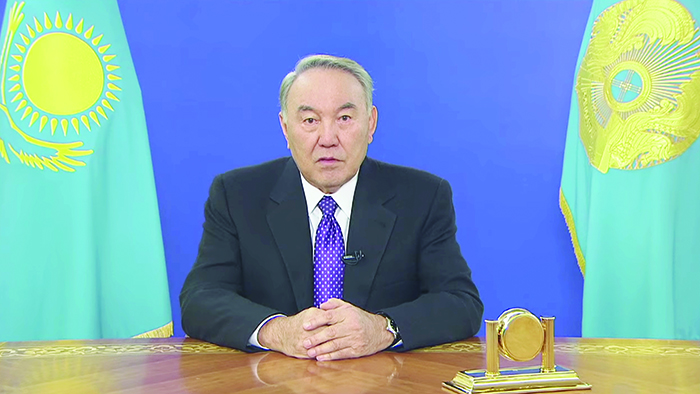Қазақстан Республикасының Президенті Н.Ә.Назарбаевтың билік тармақтары арасында өкілеттіктерді қайта бөлу мәселелері жөніндегі  ҮНДЕУІ