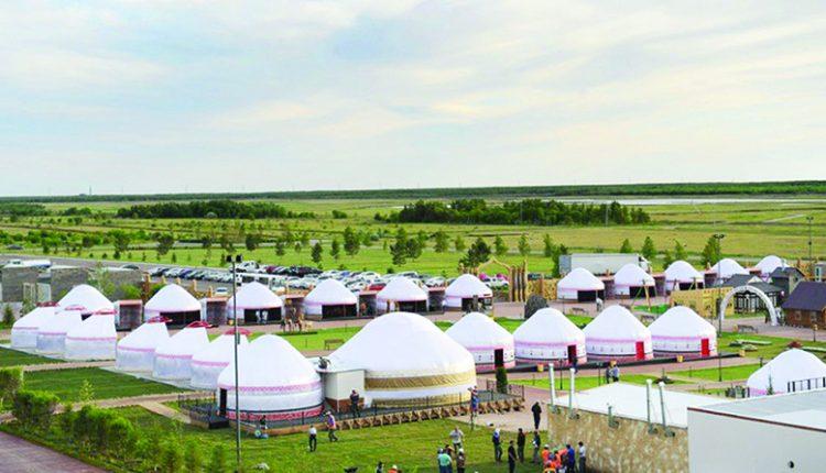 Астанадағы «этноауыл»