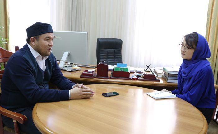 Еркінбек ШОҚАЙ, Алматы қаласының бас имамы: Ұлттық дәстүріміз  Ислам дінімен  біте қайнасқан