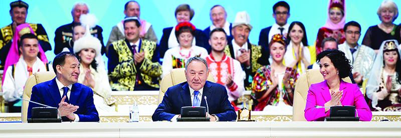 N Nazarbaev