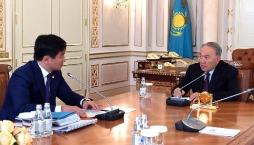 Елбасы Алматы әкімі Бауыржан Байбекті қабылдады