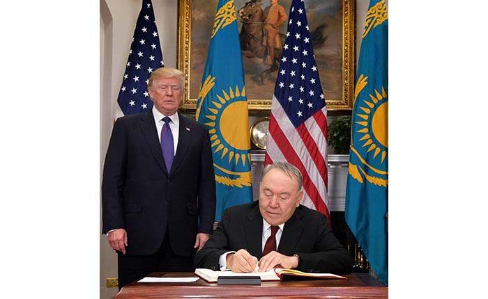 Президенттер Н.Назарбаев пен Д.Трамптың бірлескен мәлімдемесі