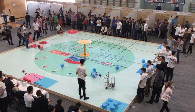 Алматы қаласында мектеп оқушыларының арасында роботты техникаға арналған жарыс өтті